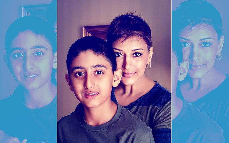 बेटे संग सोनाली बेंद्रे ने शेयर की नई तस्वीर साथ ही पोस्ट किया इमोशल मैसेज