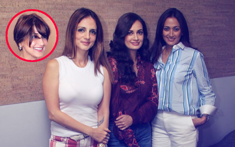 Sonali Bendre's Friends -- Susannne, Dia & Gayatri  -- Get Together To Talk About Her