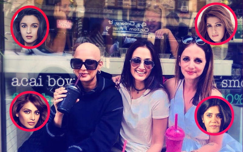 Sonali Bendre 'Bald Is Beautiful' Pic: Twinkle, Alia, Ekta, Bipasha Send Love
