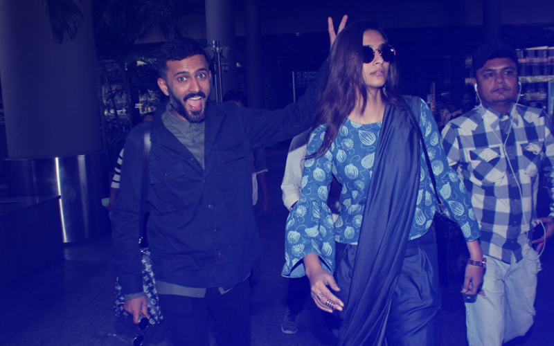 Anand Ahuja Goofing Around With Girlfriend Sonam Kapoor Is Basically All Of Us With Our BAE