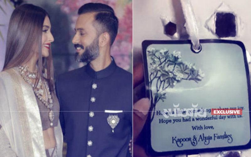 Exclusive: सोनम कपूर की शादी में मेहमानों को रिटर्न गिफ्ट में मिला ये शानदार तोहफा, देखिए तस्वीरें