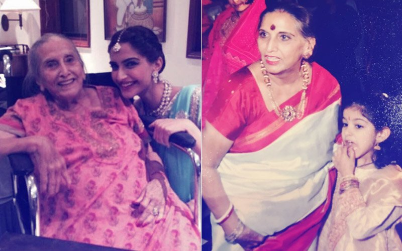 Sonam Kapoor & Rhea Kapoor Share Fondest Memories With Their Maternal Grandmother Who Passed Away This Morning