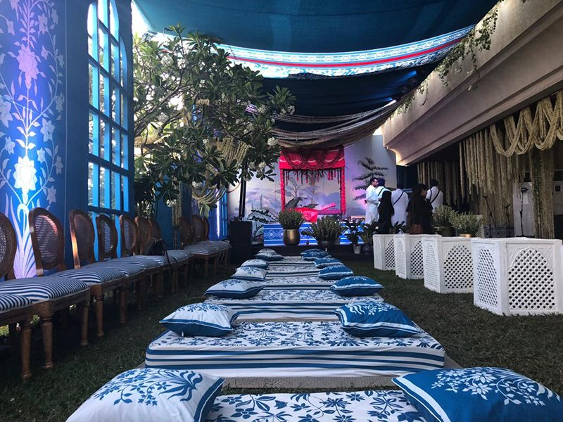 sonam kapoor anand ahuja wedding venue inside pictures