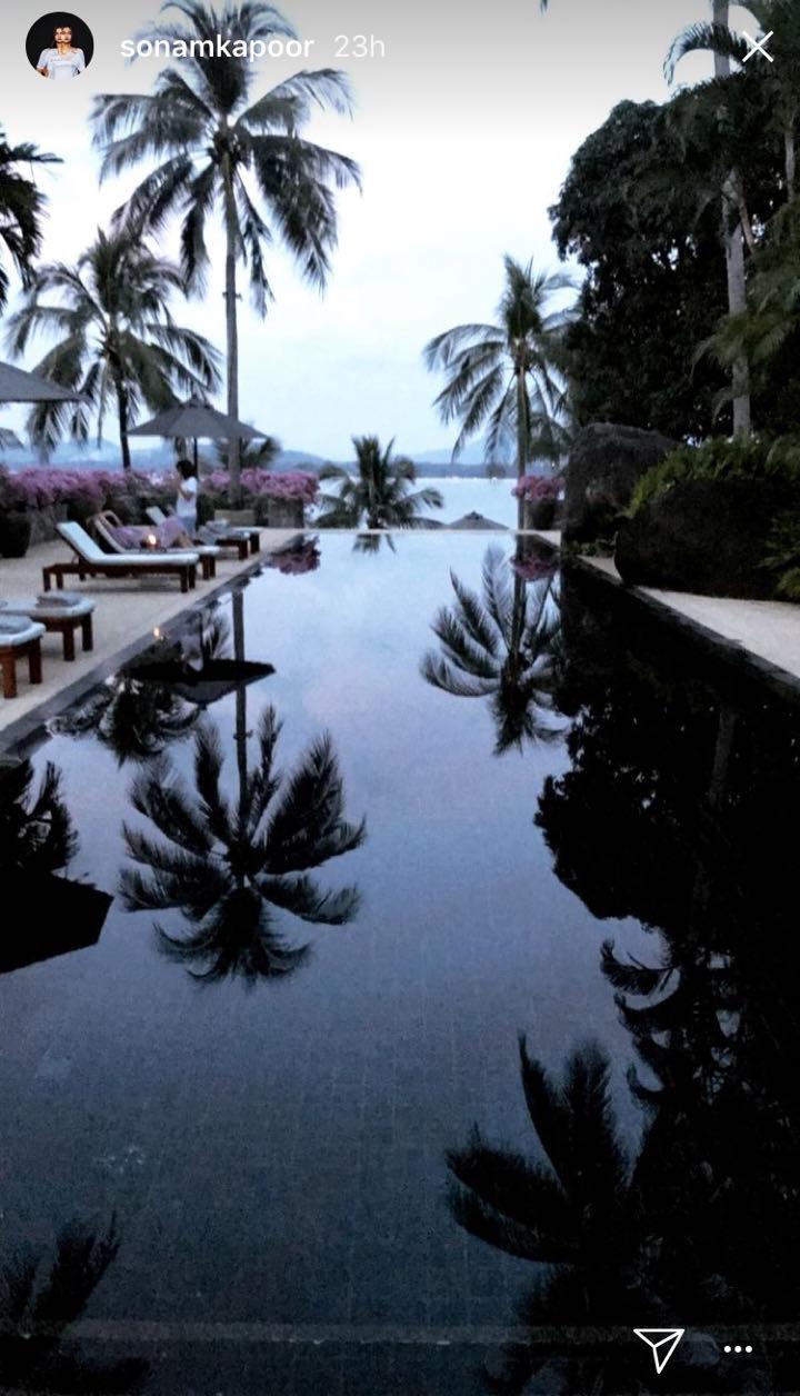 sonam kapoor holidaying in phuket