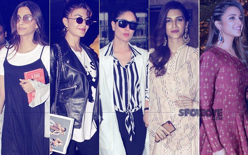 STUNNER OR BUMMER: Sonam Kapoor, Kareena Kapoor Jacqueline Fernandez, Kriti Sanon Or Parineeti Chopra?
