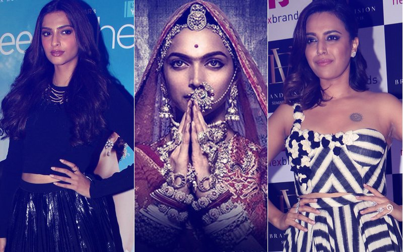 Swara Bhasker- Padmaavat Controversy: Sonam Kapoor 'LIKES' A Tweet About A Woman's Freedom Of Speech...