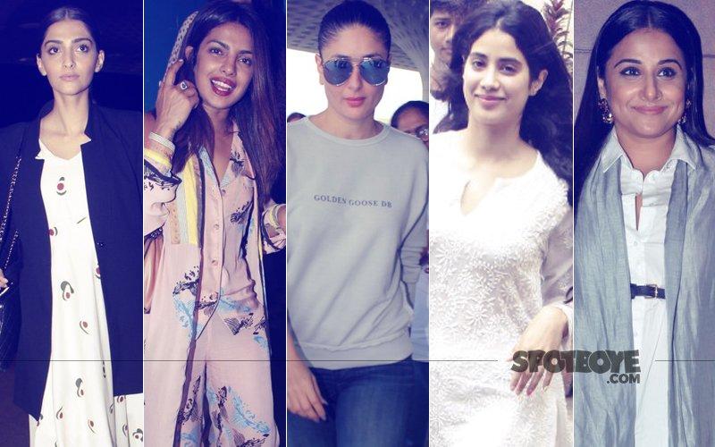 STUNNER OR BUMMER: Sonam Kapoor, Priyanka Chopra, Kareena Kapoor, Jhanvi Kapoor Or Vidya Balan?