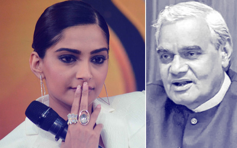 Sonam Kapoor Receives Backlash On Her Tweet About Atal Bihari Vajpayee's Death