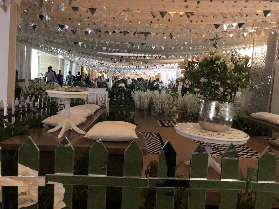 sonam kapoor wedding venue inside pictures
