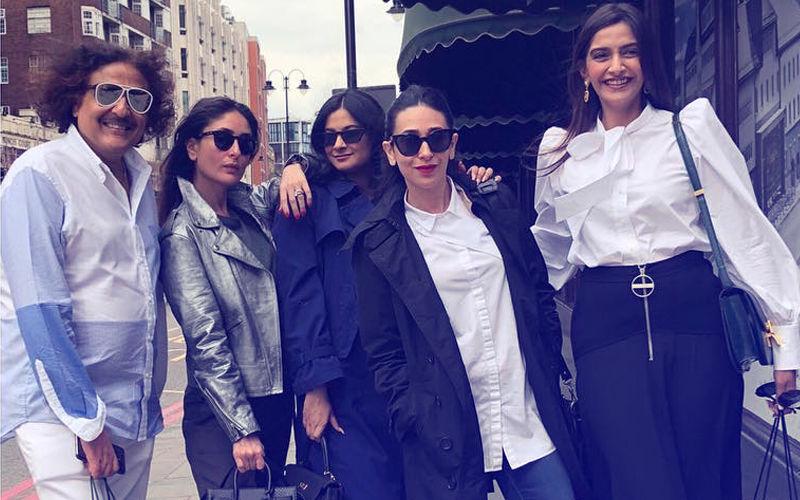 Sonam, Kareena & Karisma Kapoor's Lunch Date In London