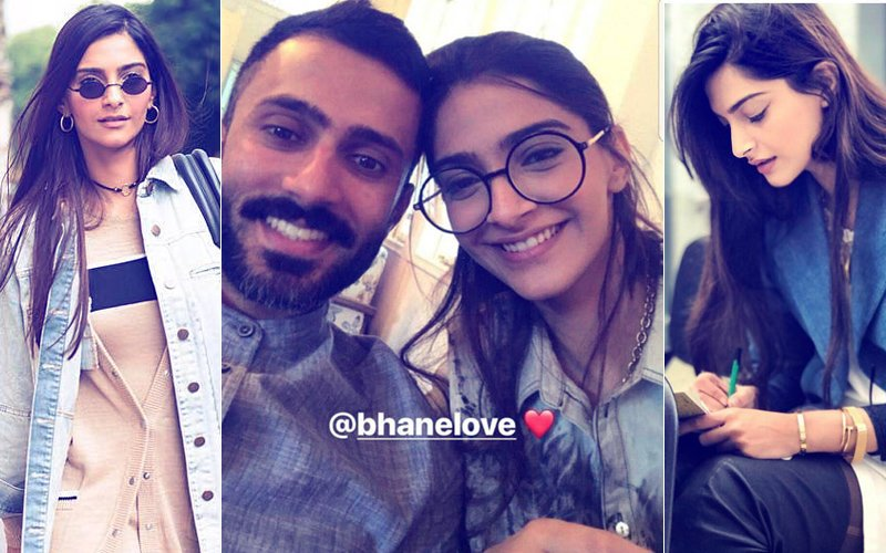 7 Times Sonam Kapoor Stepped Out Wearing Fiance Anand Ahuja's Label Bhane