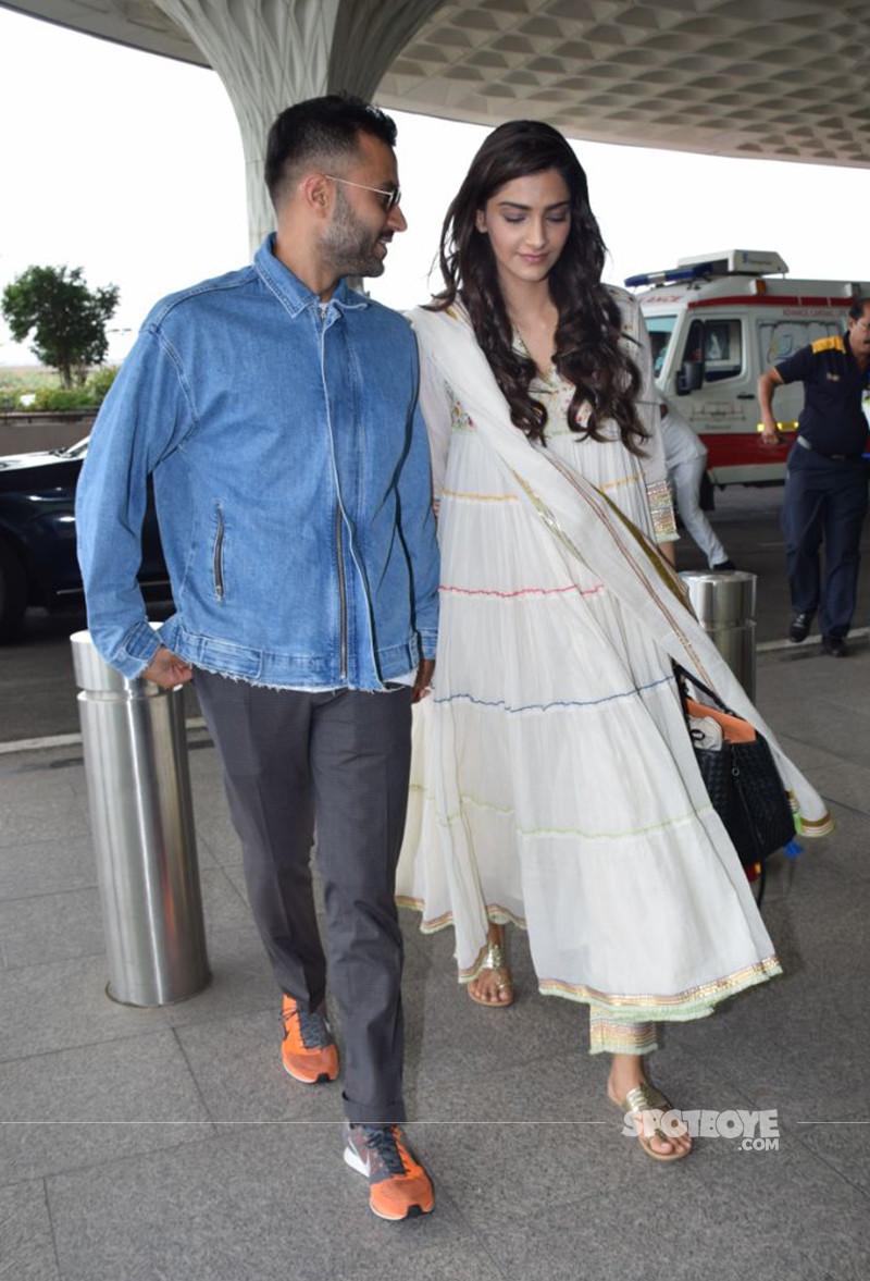 Sonam Kapoor With Anand Ahuja