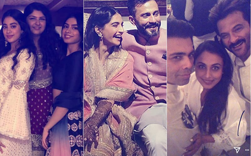 Inside Pics & Videos From Sonam Kapoor's Big Fat Mehendi Party That You Cannot Miss