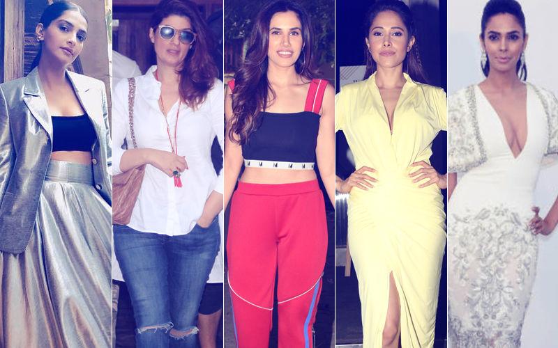 STUNNER OR BUMMER: Sonam Kapoor, Twinkle Khanna, Sonnalli Seygall, Nushrat Bharucha Or Mallika Sherawat?