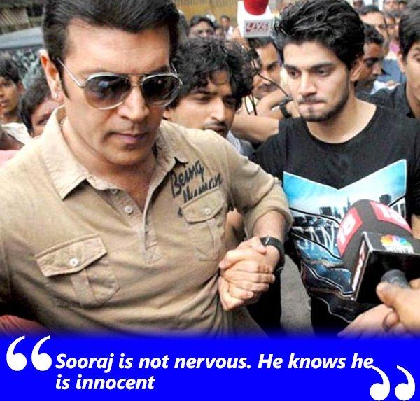 sooraj is not nervous he knows he is innocent