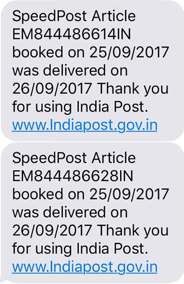 speed post sent by aditya pancholi to kangana ranaut