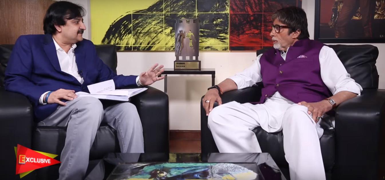 spotboye editor vickey lalwani in a conversation with megastar amitabh bachchan