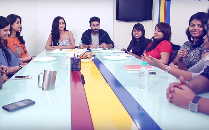 SpotboyE Journalists Train Newbies Aadar Jain & Anya Singh To Face The Media