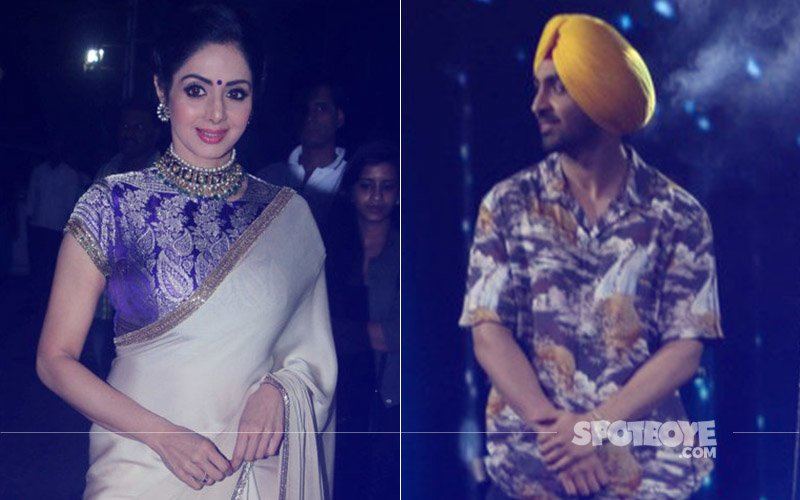 Sridevi & Diljit Dosanjh On The Sets Of Nach Baliye 8