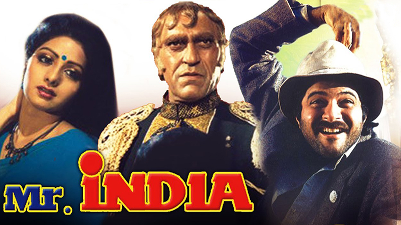 sridevi amrish puri anil kapoor in mr india