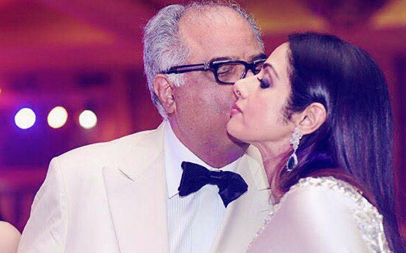 शादी की सालगिरह पर बोनी कपूर ने इस तरह श्रीदेवी को किया याद