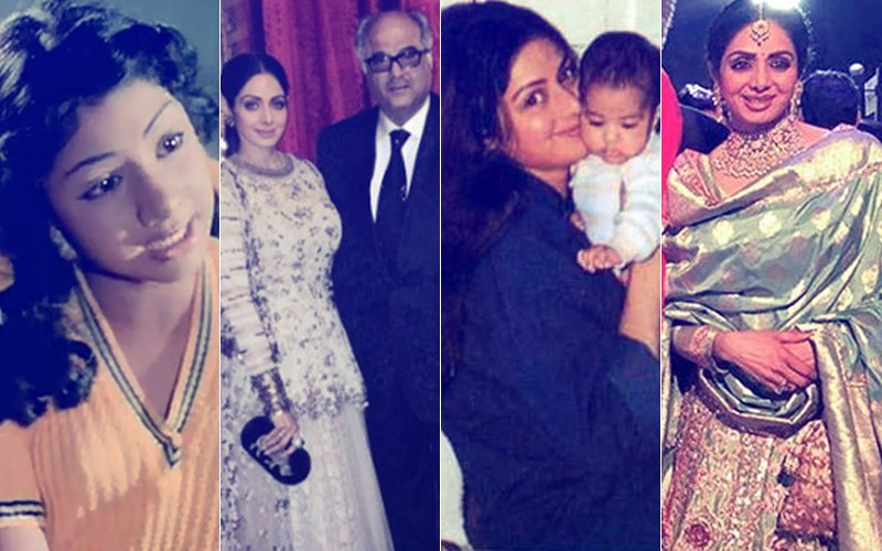 Sridevi No More, 1963-2018: Superstar's GLORIOUS & ICONIC Life In Pictures...