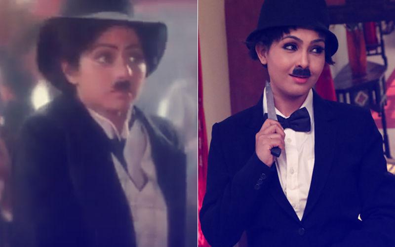 Shubhangi Atre Aka Angoori Bhabhi Recreates Sridevi's Mr India Look