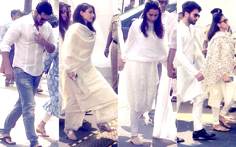 Sridevi Prayer Meet: Shahid-Mira, Soha, John, Shraddha Come In