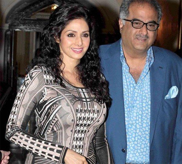 Boney Kapoor With Sridevi