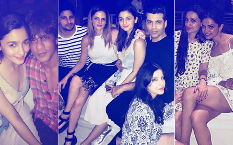 INSIDE PICS: Deepika Padukone, Alia Bhatt, Sidharth Malhotra PARTY HARD At SRK's 52nd Bash!