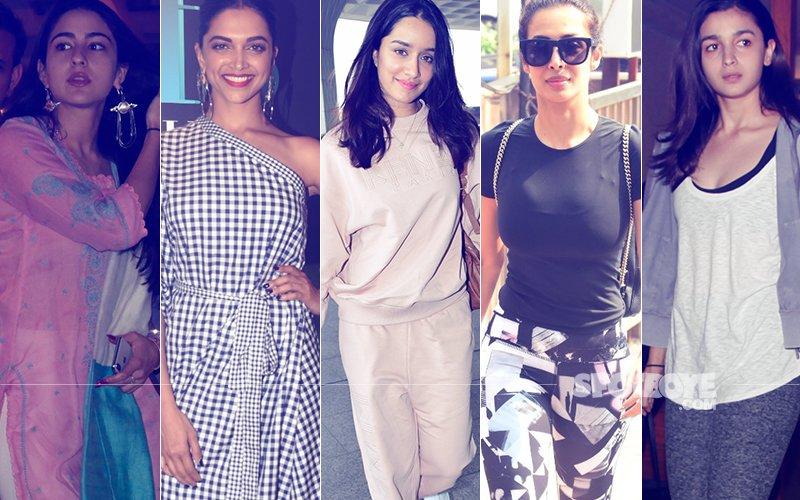 STUNNER OR BUMMER: Sara Ali Khan, Deepika Padukone, Shraddha Kapoor, Malaika Arora Or Alia Bhatt?