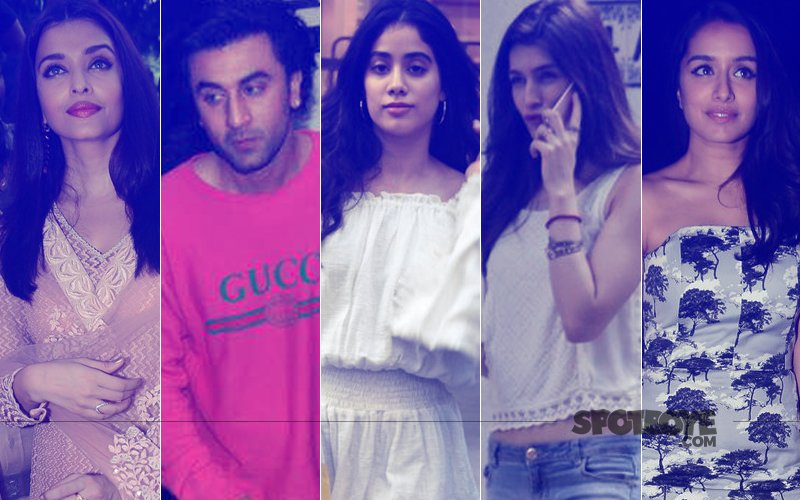 STUNNER OR BUMMER: Aishwarya Rai Bachchan, Ranbir Kapoor, Jhanvi Kapoor, Kriti Sanon Or Shraddha Kapoor?