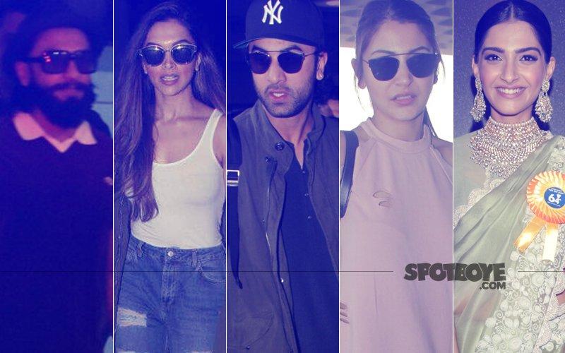 STUNNER OR BUMMER:  Ranveer Singh, Deepika Padukone, Ranbir Kapoor, Anushka Sharma Or Sonam Kapoor?