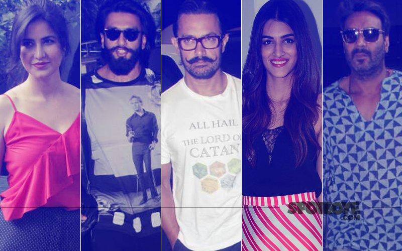 STUNNER OR BUMMER: Katrina Kaif, Ranveer Singh, Aamir Khan, Kriti Sanon Or Ajay Devgn?