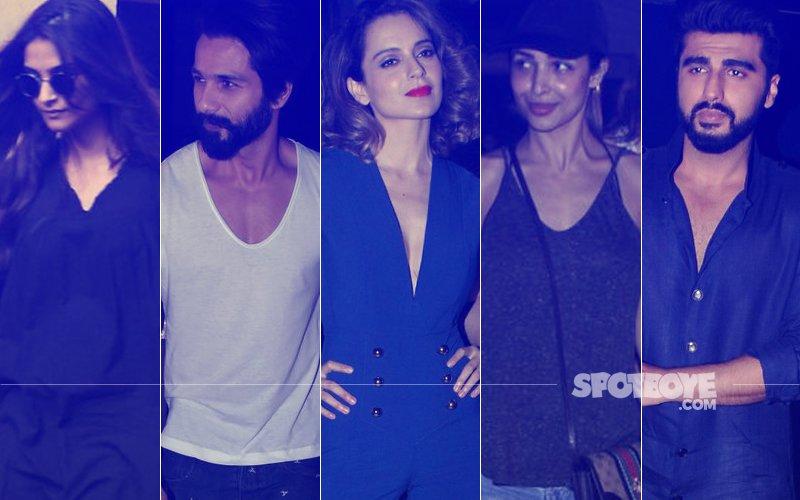 STUNNER OR BUMMER: Sonam Kapoor, Shahid Kapoor, Kangana Ranaut, Malaika Arora Or Arjun Kapoor?