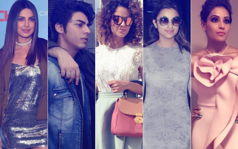 STUNNER OR BUMMER: Priyanka Chopra, Aryan Khan, Kangana Ranaut, Parineeti Chopra Or Bipasha Basu?