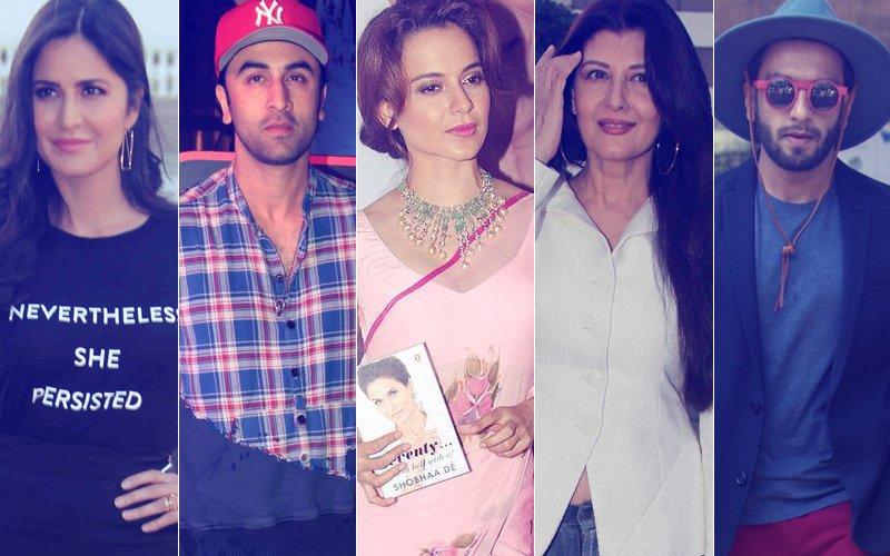 STUNNER OR BUMMER: Katrina Kaif, Ranbir Kapoor, Kangana Ranaut, Sangeeta Bijlani Or Ranveer Singh?