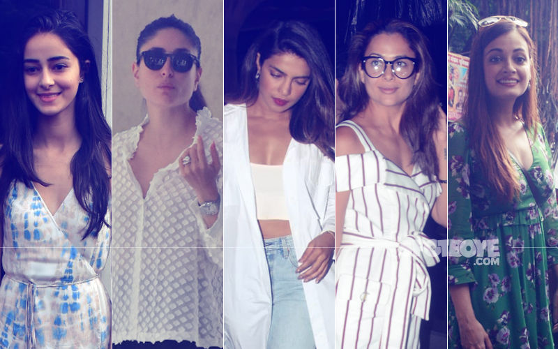 STUNNER OR BUMMER:  Ananya Panday, Kareena Kapoor, Priyanka Chopra, Amrita Arora Or Dia Mirza?