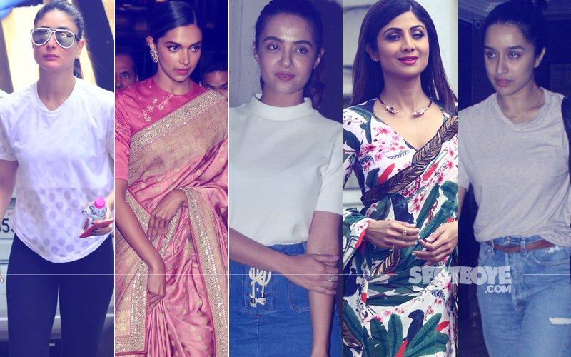 STUNNER OR BUMMER: Kareena Kapoor, Deepika Padukone, Surveen Chawla, Shilpa Shetty Or Shraddha Kapoor?
