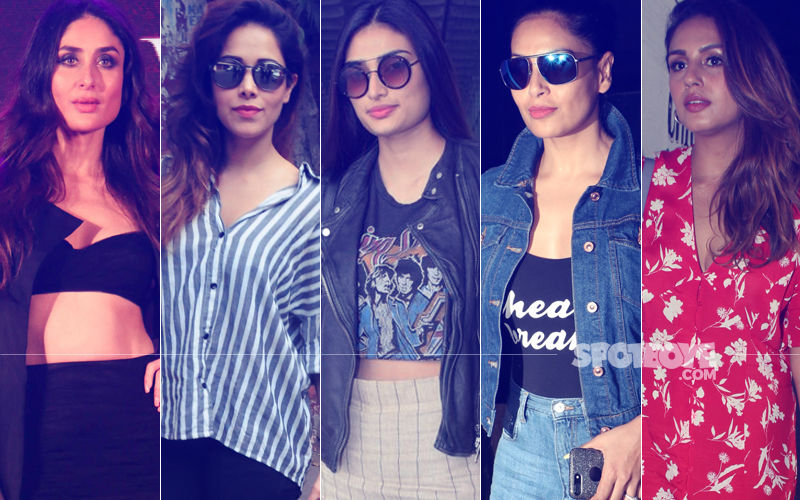 STUNNER OR BUMMER: Kareena Kapoor, Nushrat Bharucha, Athiya Shetty, Bipasha Basu Or Huma Qureshi?