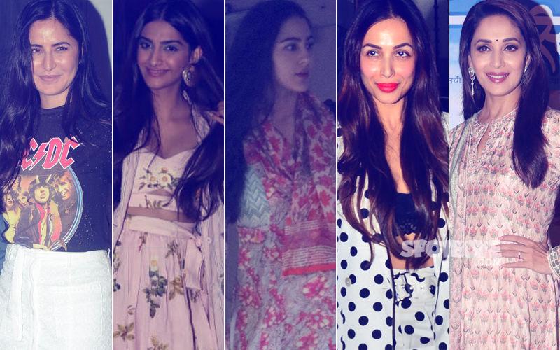 STUNNER OR BUMMER: Katrina Kaif, Sonam Kapoor, Sara Ali Khan, Malaika Arora Or Madhuri Dixit?