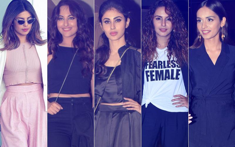 STUNNER OR BUMMER: Priyanka Chopra, Sonakshi Sinha, Mouni Roy, Huma Qureshi Or Manushi Chillar?