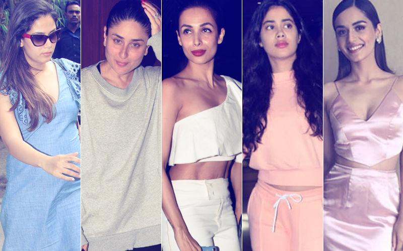 STUNNER OR BUMMER: Mira Rajput, Kareena Kapoor, Malaika Arora, Janhvi Kapoor Or Manushi Chhillar?