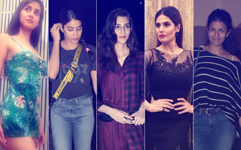 STUNNER OR BUMMER: Disha Patani, Janhvi Kapoor, Kriti Sanon, Zareen Khan Or Nimrat Kaur?