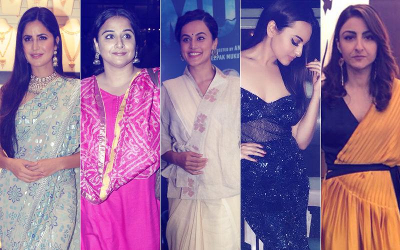 STUNNER OR BUMMER: Katrina Kaif, Vidya Balan, Taapsee Pannu, Sonakshi Sinha Or Soha Ali Khan?