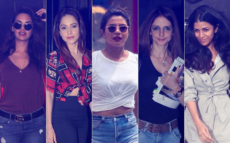 STUNNER OR BUMMER: Esha Gupta, Nushrat Bharucha, Priyanka Chopra, Sussanne Khan Or Nimrat Kaur?