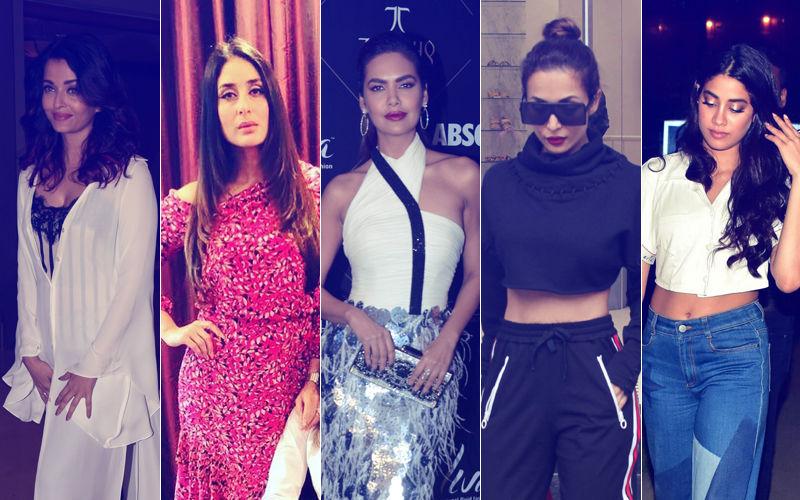STUNNER OR BUMMER: Aishwarya Rai, Kareena Kapoor, Esha Gupta, Malaika Arora Or Janhvi Kapoor?