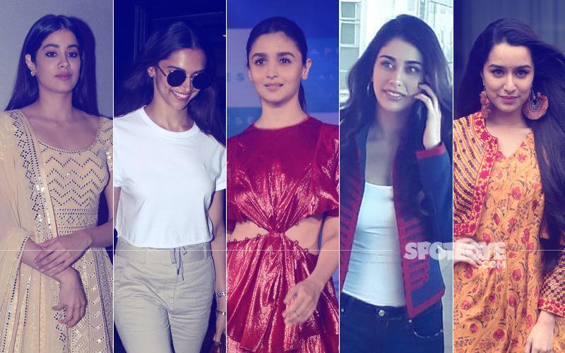 STUNNER OR BUMMER: Janhvi Kapoor, Deepika Padukone, Alia Bhatt, Warina Hussain Or Shraddha Kapoor?