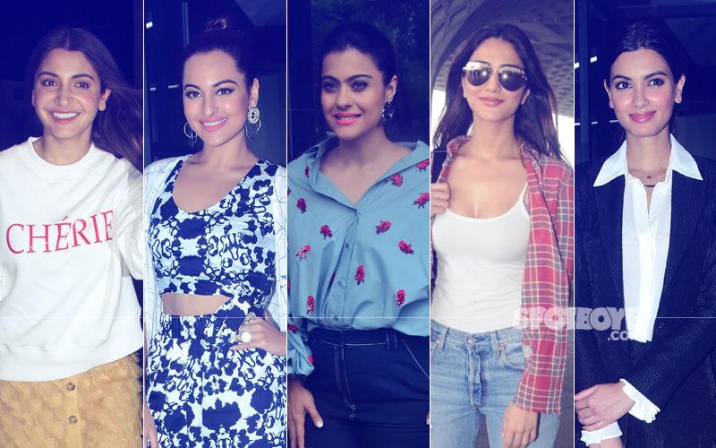 STUNNER OR BUMMER: Anushka Sharma, Sonakshi Sinha, Kajol, Vaani Kapoor Or Diana Penty?