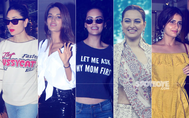 STUNNER OR BUMMER: Kareena Kapoor, Nidhhi Agerwal, Esha Gupta, Sonakshi Sinha Or Fatima Sana Shaikh?